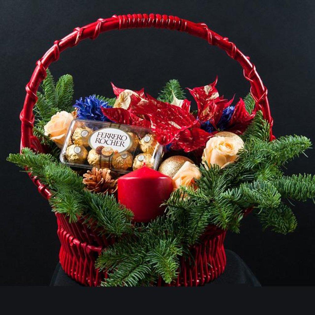 Продуктовые подарки к новому году своими руками