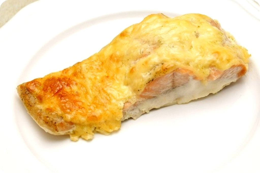 Горбуша запеченная в духовке с сыром рецепт с пошагово