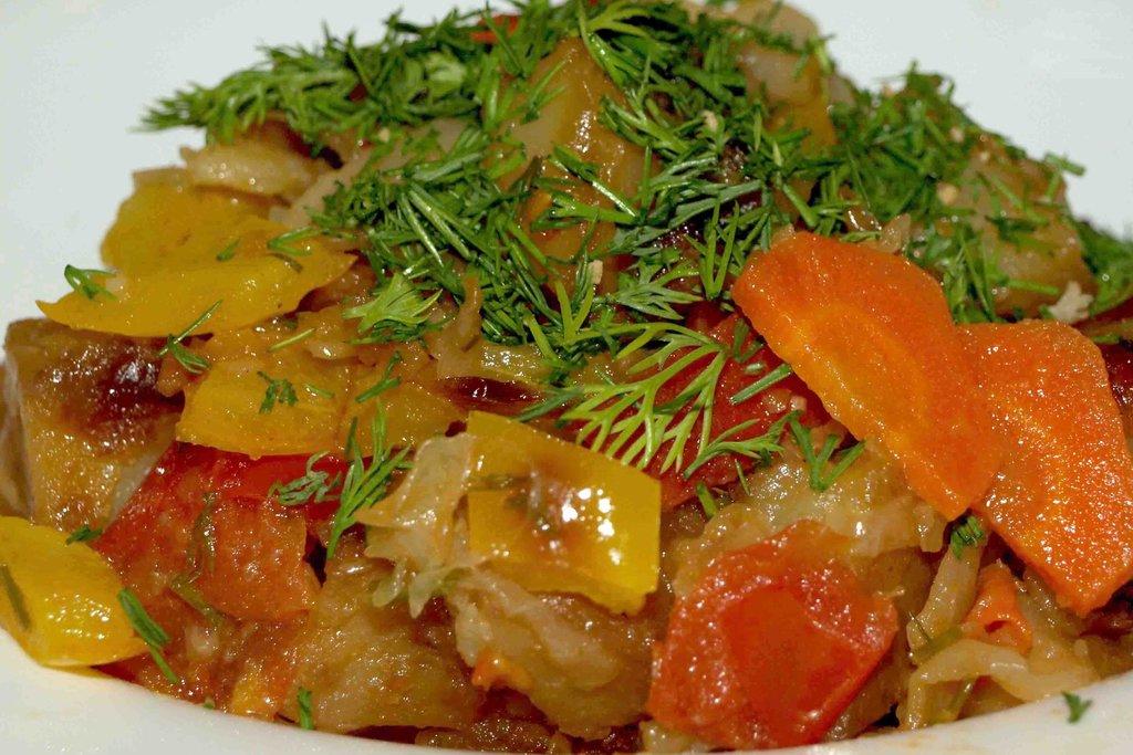 овощное рагу из капусты