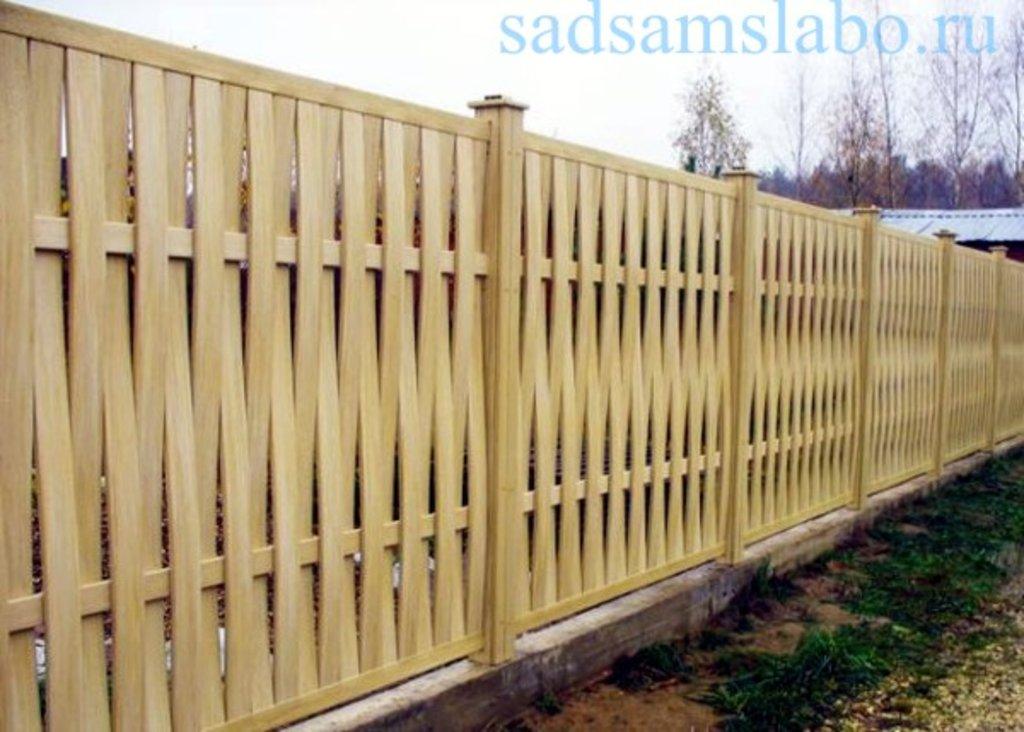 Как сделать деревянный забор для дачи своими руками