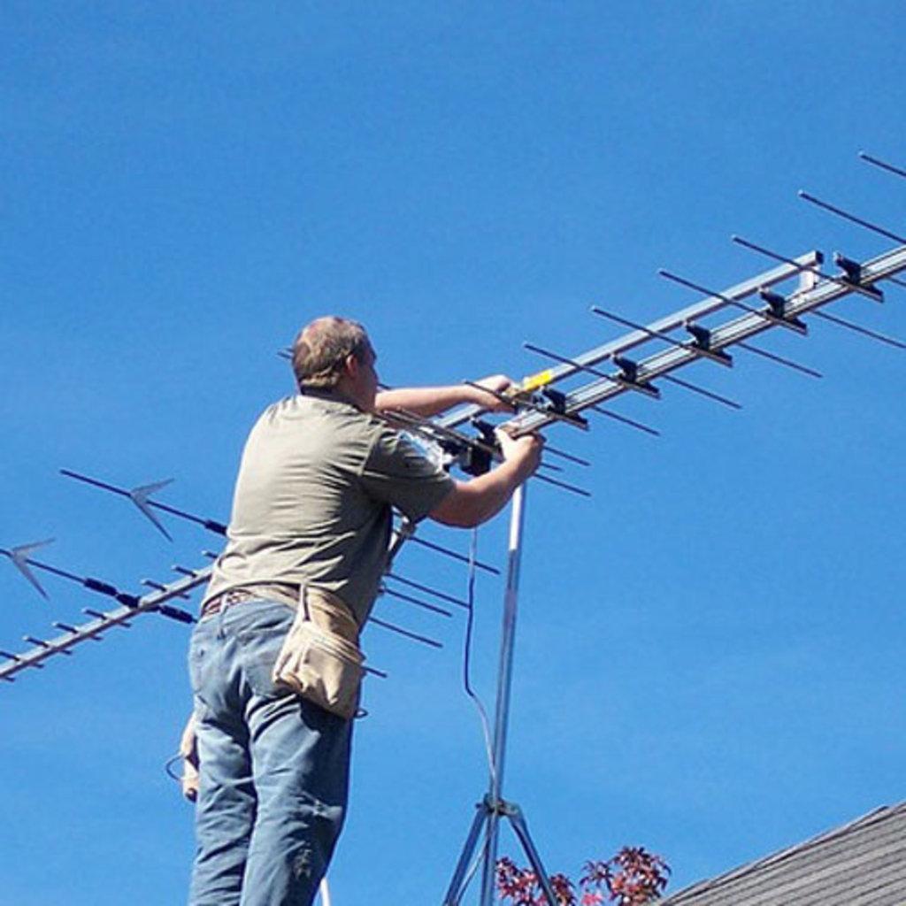 Монтаж внешней антенны своими руками
