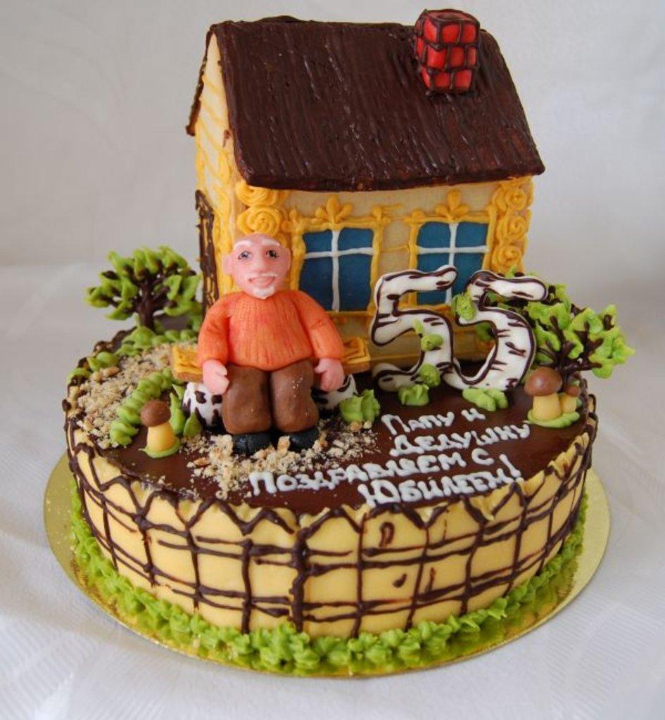 Торт на день рождения дедушки своими руками 61
