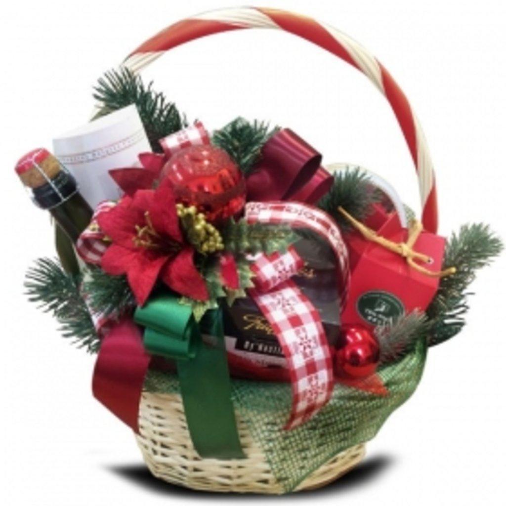 Подарки в корзинах своими руками на новый год
