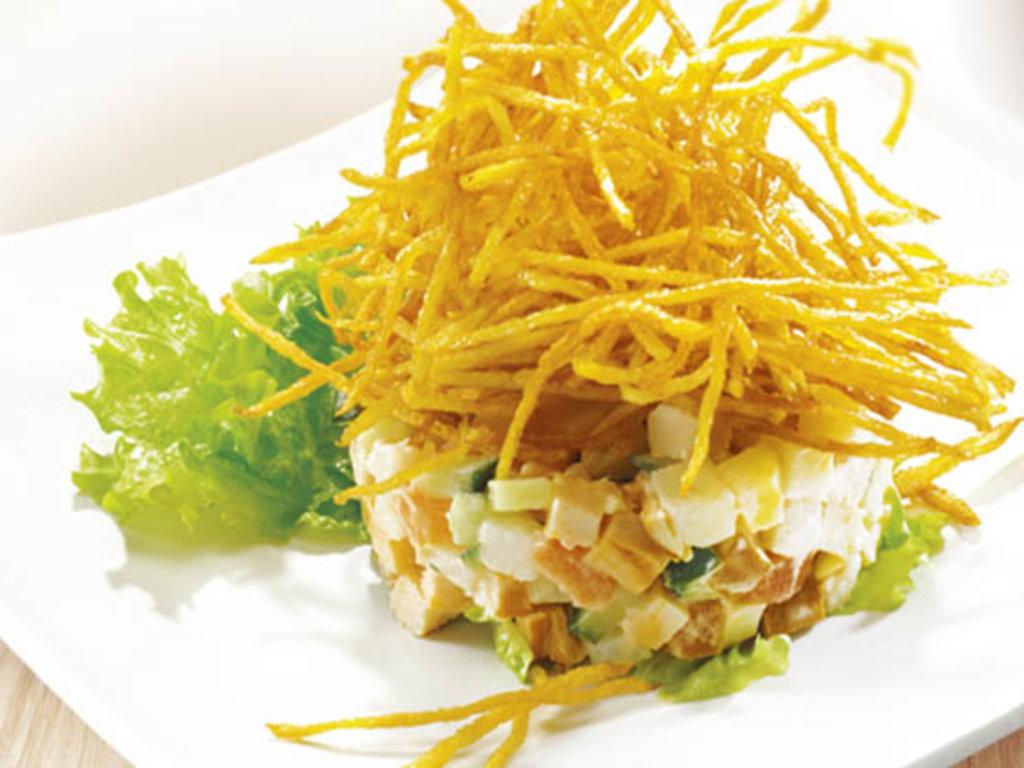 Рецепты салатов с картошкой пай с