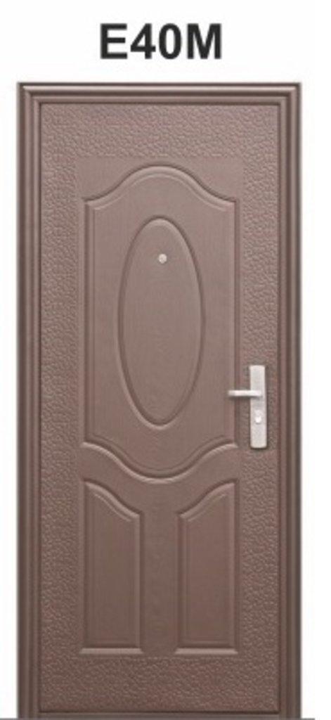 дверь металлическая эконом м