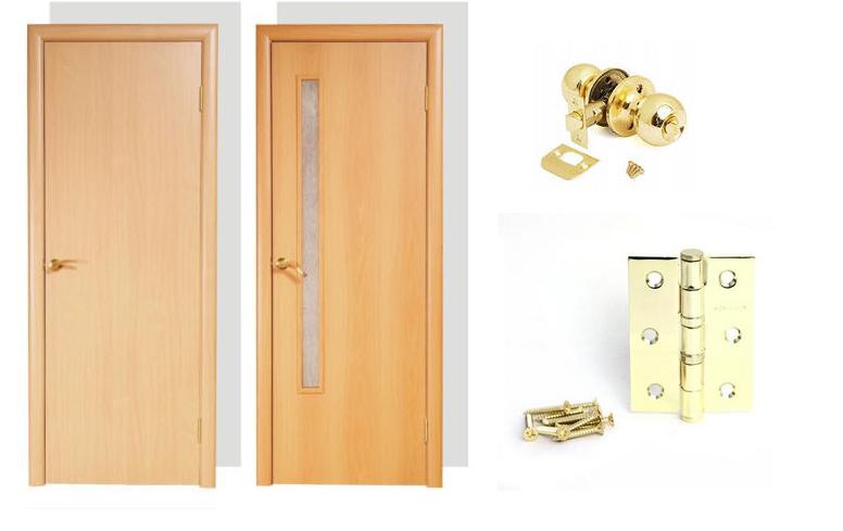 дверь служебная внутренняя металлическая