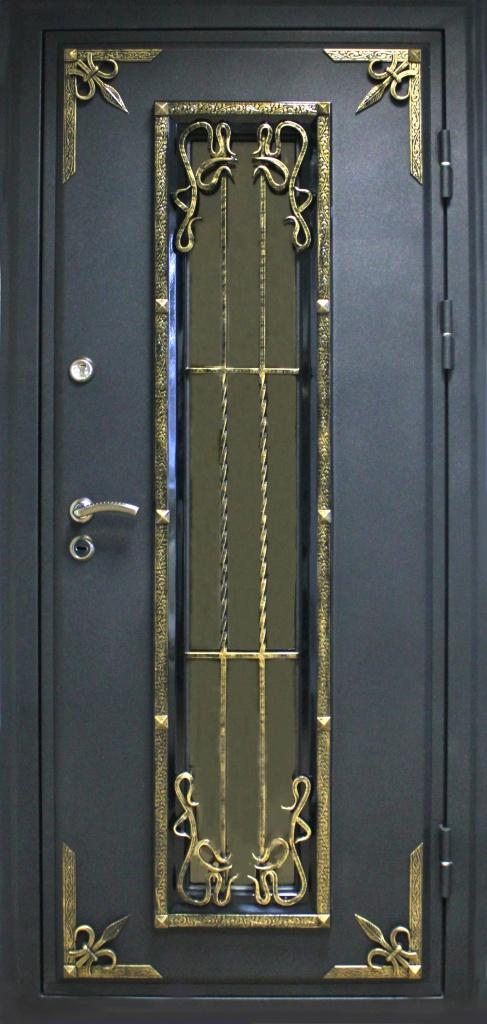"""Дверь металлическая входная """"премиум 3"""" купить в краснодаре ."""