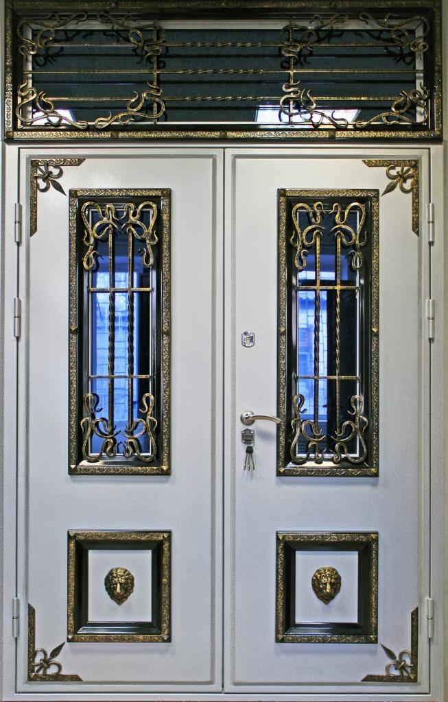 железные двери под индивидуальный заказ