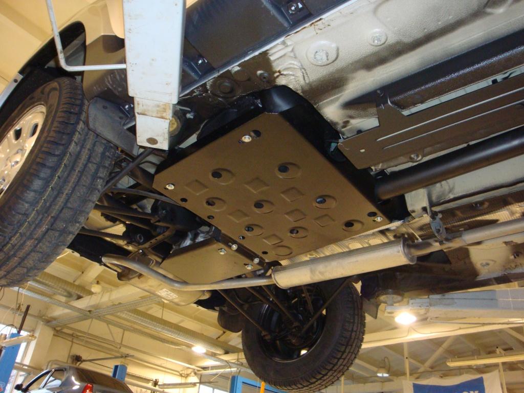 Защита редуктора на рено дастер 96