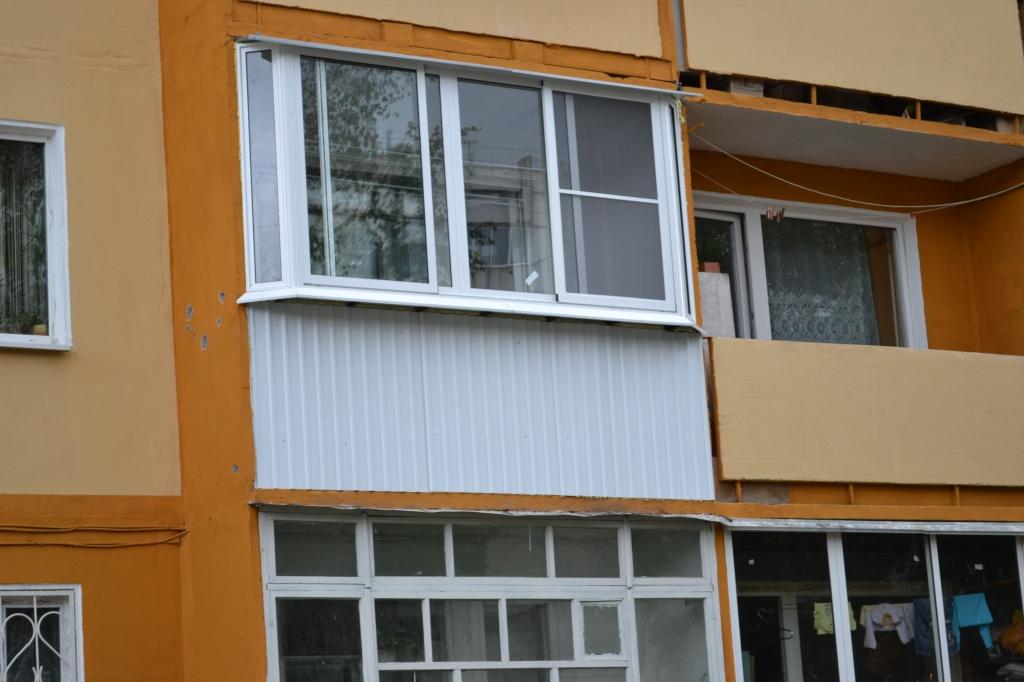 Остекление балкона прямой 3м купить или заказать в иркутске .