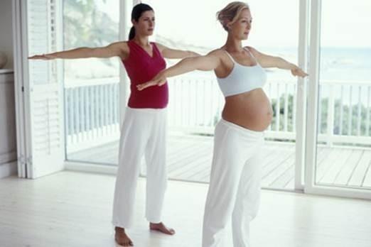 Утренняя гимнастика для беременных 2 триместр 83