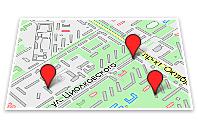 карта красноярска