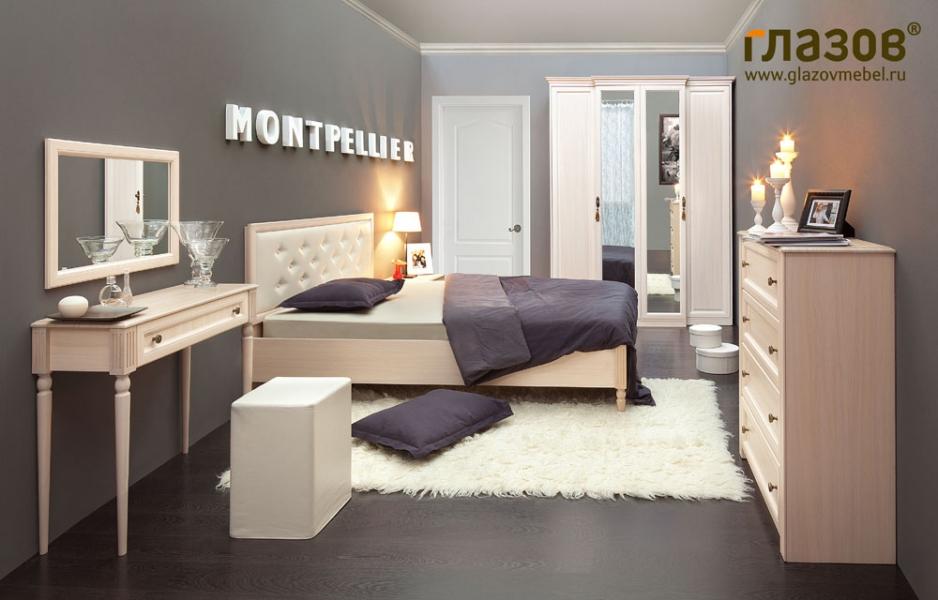 спальня Montpellier стильная мебель интернет магазин мебели