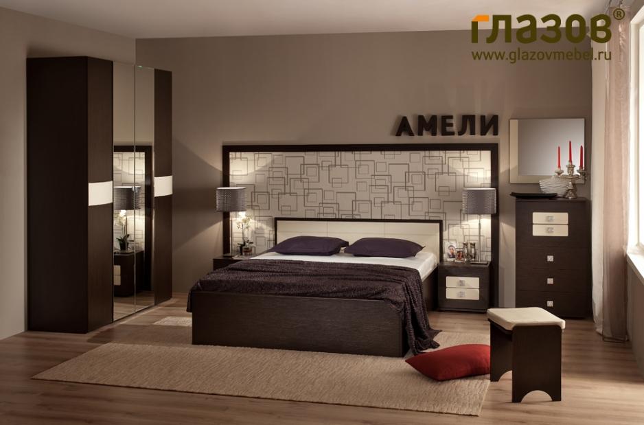 спальня амели стильная мебель интернет магазин мебели