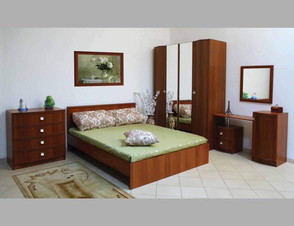Мебель для спальни Линаура серия Соната Итальянский Орех