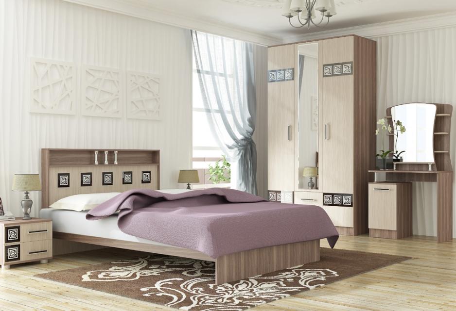 Мебель для спальни Линаура серия Коста-Рика