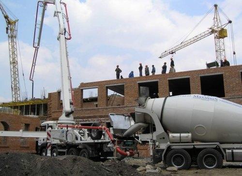 услуги бетононасосов в туле