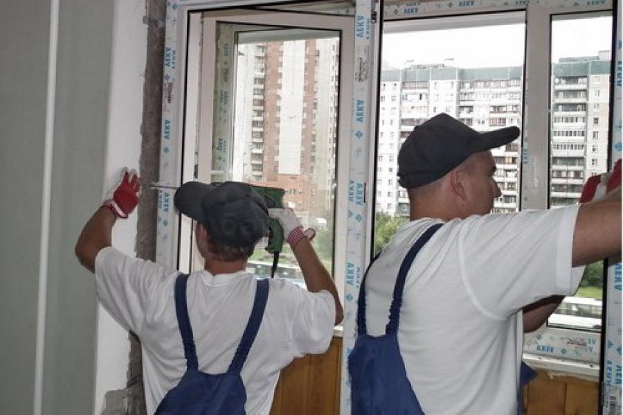 Установка/монтаж окон, балконов, лоджий пвх объявление в раз.