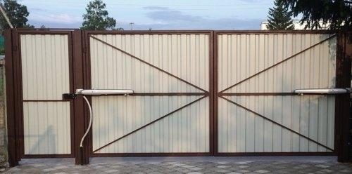 гаражные ворота в туле