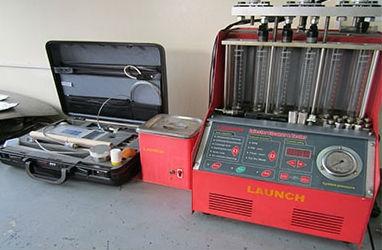 оборудованием для диагностики и ремонта дизельных форсунок системы Common Rail