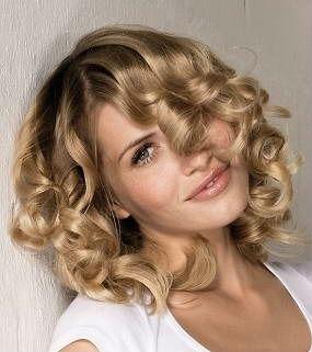 Крупная биозавивка волос