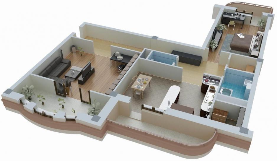 Цена проекта планировки квартиры