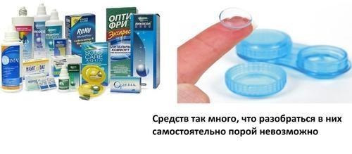 раствор для контактных линз в туле