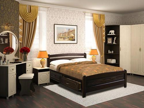кровати из массива в туле