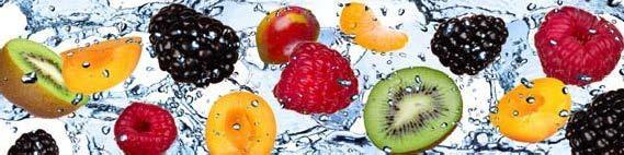 кухонный фартук фрукты