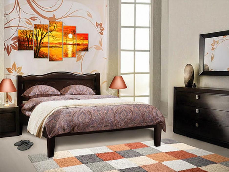 купить кровать из массива в туле