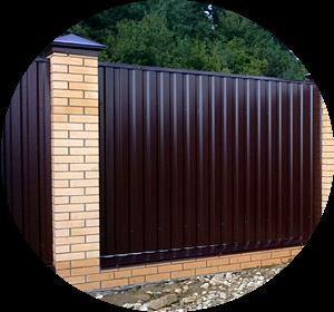 Забор из профнастила в Череповце