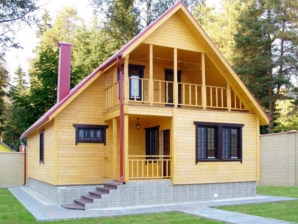 Каркасные дома с отделкой