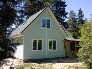 Щитовые дома с отделкой