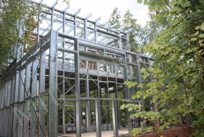 строительство павильонов из металлоконструкций