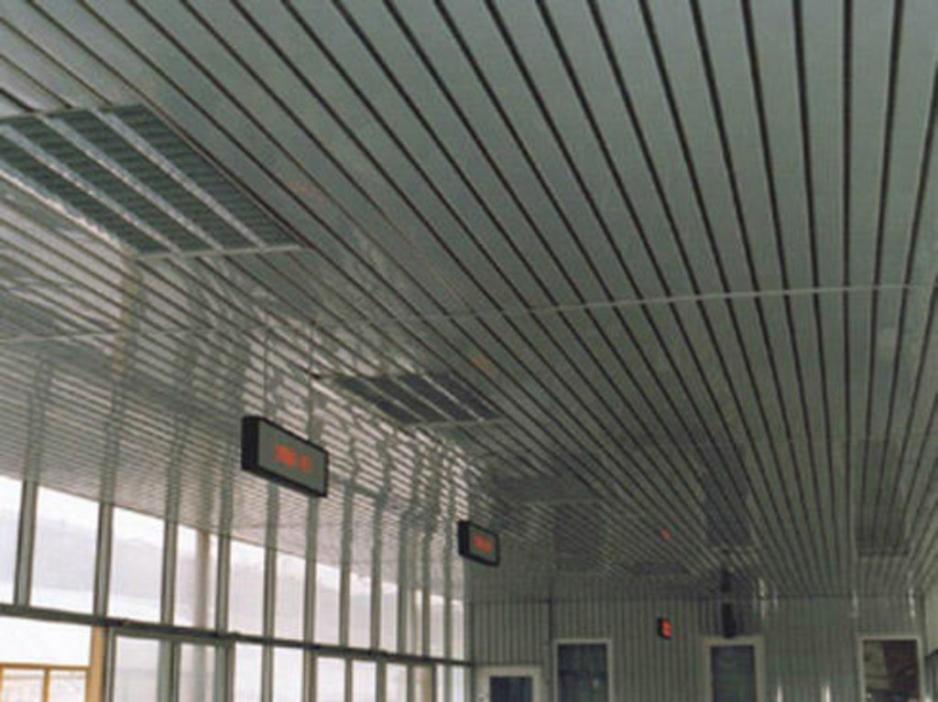 алюминиевый реечный потолок в туле