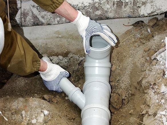 монтаж труб канализации в Красноярске