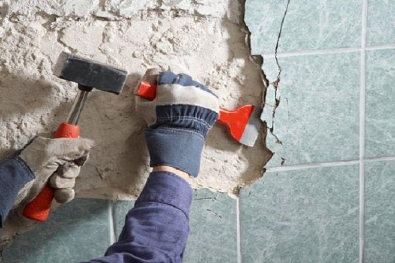 Демонтаж несущих стен, прайс, цена