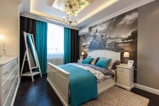 ремонт спальни дизайн в Красноярске