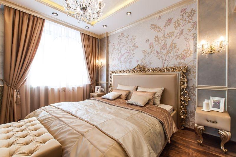 Ремонт спальни под ключ в Красноярске, купить, цена