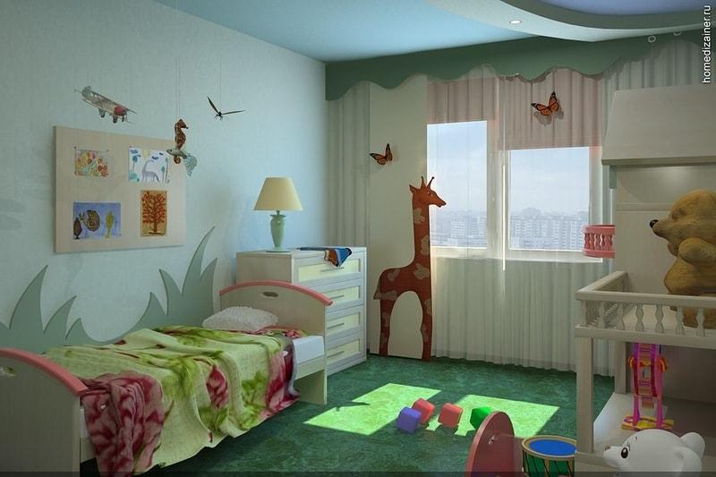 ремонт детской комнаты в Красноярске