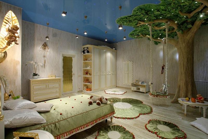 ремонт детской комнаты для мальчика в Красноярске