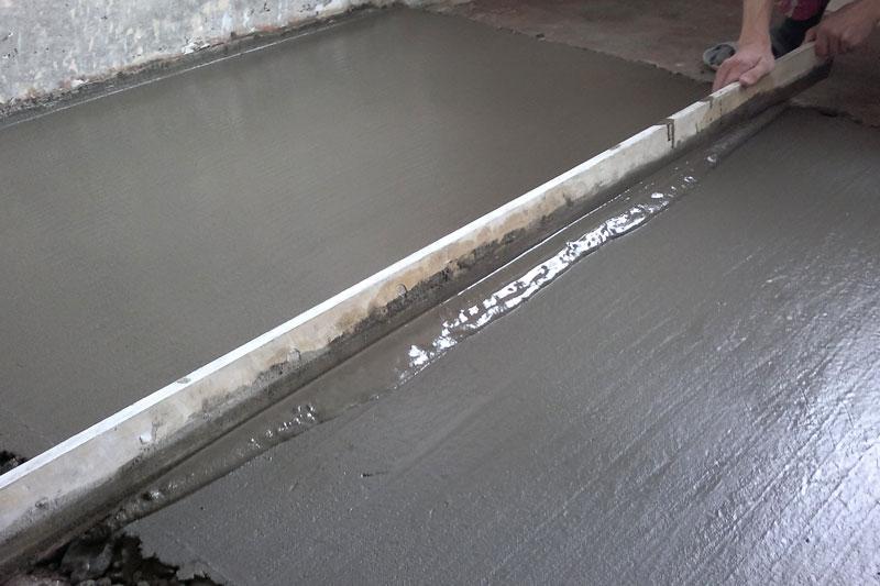 бетонная стяжка пола в КРасноярске