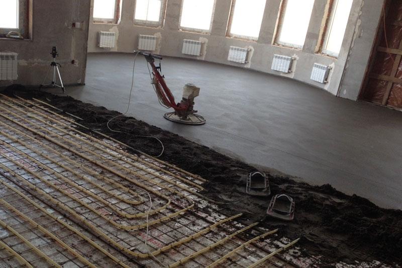 Стяжка пола в квартире в Красноярске, сухая, цементная, бетонная, купить, цена