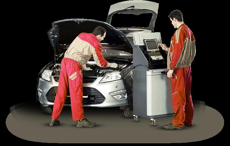 техническим обслуживанием автомобиля