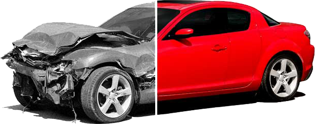 кузовной ремонт и покраску автомобиля