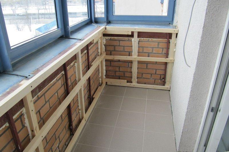Ремонт балкона под ключ в Красноярске, прайс
