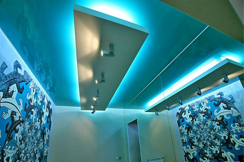 подсветка потолка светодиодной лентой в Красноярске