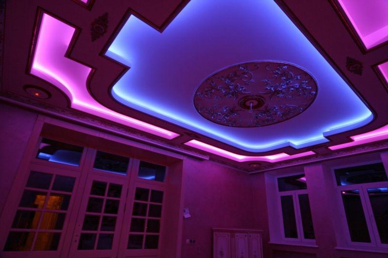 натяжной потолок с подсветкой в Красноярске