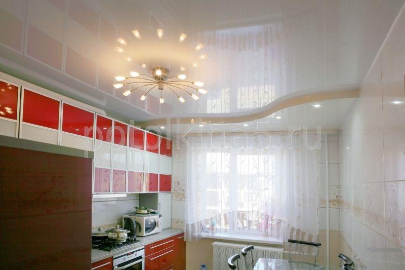 Натяжные потолки на кухню в Красноярске от производителя, купить