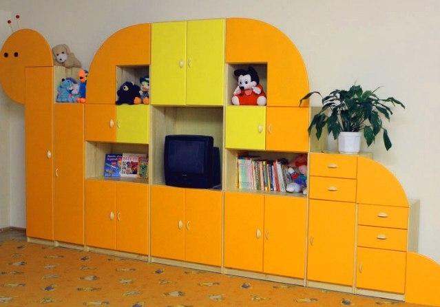 Мебель для детских садов - изготовление корпусной мебели меб.